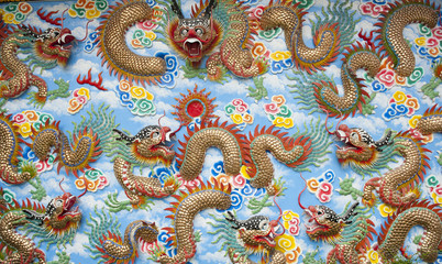 Chinese Temple Wall Art