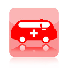 Ambulance medical icon