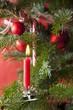 Weihnachtlich geschmückter Baum