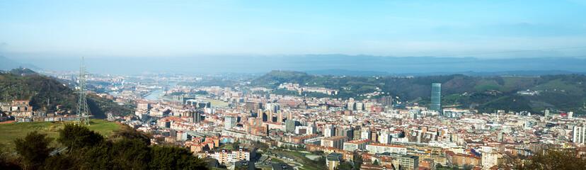 Panoramica de Bilbao