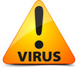 Virus! Hazard sign