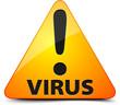 Virus! Hazard sign