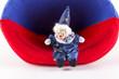 Sitzender clown