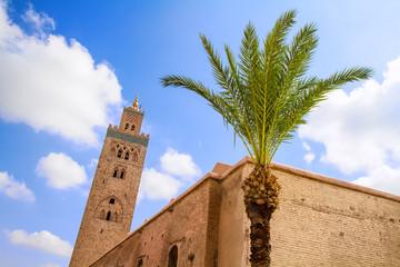 Koutoubia Moschee in Marrakesch, Marokko