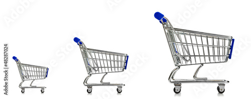 Shopping Cart Three Sizes