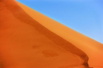 Dunes of Namib desert, Sossusvlei, Namibia, South Africa