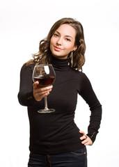 Wine offer.