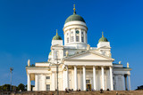 The Helsinki Lutheran Cathedral, Finland poster