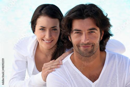 Zen-like couple