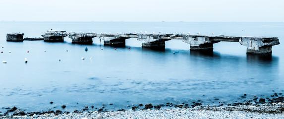 Old Suadiye Pier / Wharf from Kadikoy Istanbul Turkey