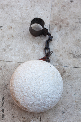 Prisoner ball and chain