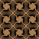 geometric art deco vintage pattern