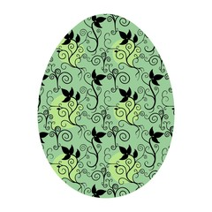 FLORAL EASTER ORNAMENT