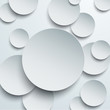 Fototapete Kreis - 3d - Papier / Karton
