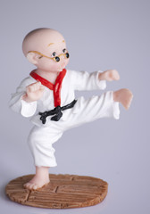 statue of young judo