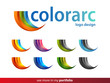 ColorArc Company Logo Design,Vector