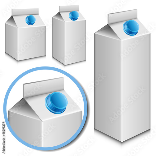 Milk carton set
