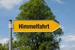 Pfeil mit Baum HIMMELFAHRT