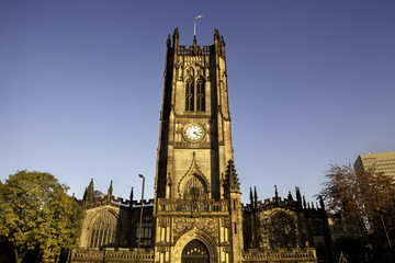 Manchester Medieval cathedral, UK