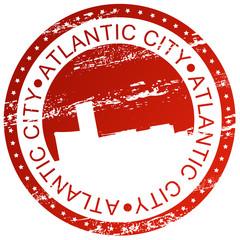 Stamp - Atlantic City, USA