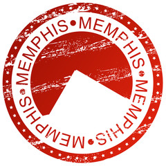 Stamp - Memphis, USA