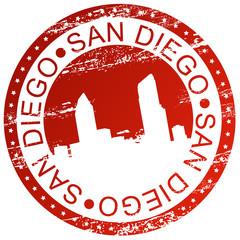 Stamp - San Diego, USA
