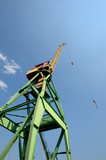 cargo crane at Riga shipyard