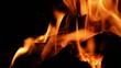 Wood burning, bonfire.