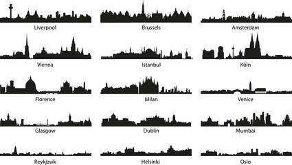 vector_city icons