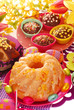 yeast ring cake for easter