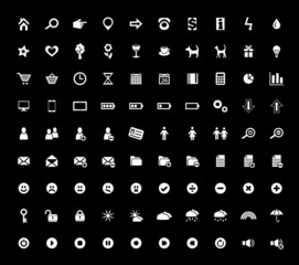 Set of 90 Web Icons