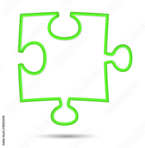 puzzle web icon design element.