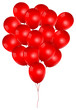Beautiful Red Balloons