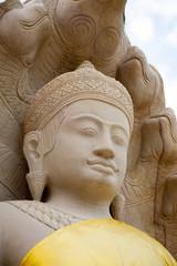 Stone Buddha figure
