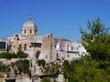 View on Massafra in Taranto  in Italy