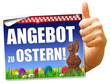 Angebot zu Ostern! Button, Icon
