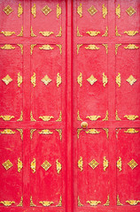 Ornate temple doors