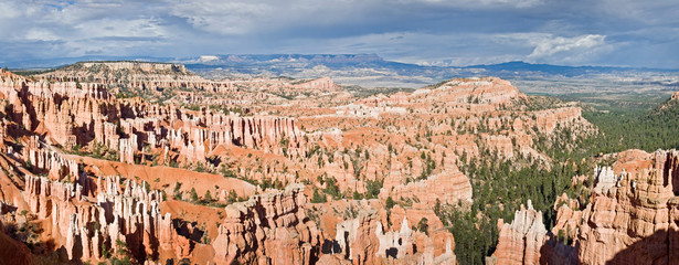 Panorama Sunset point à Bryce Canyon National park - Utah, USA