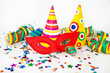 canvas print picture - Colorful party decorations