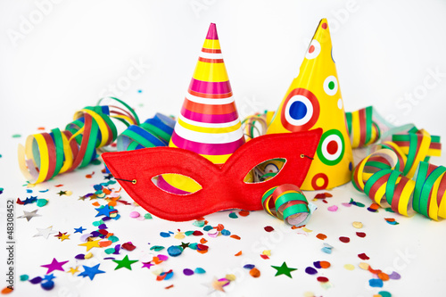 canvas print picture Colorful party decorations