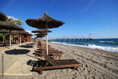 Daitona beach, Marbella, Spain © Arena Photo UK