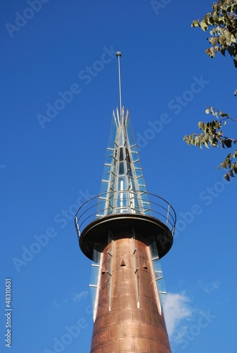 Copper obelisk, Marbella, Spain © Arena Photo UK