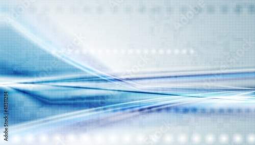 Colourful hi-tech vector background