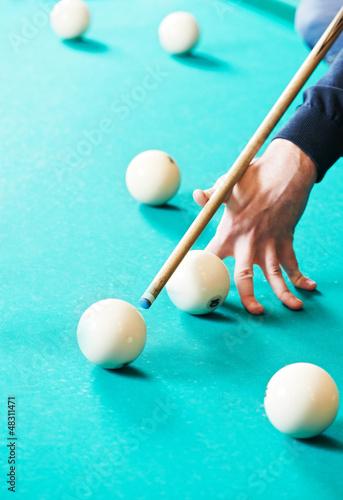 Snooker billiard game