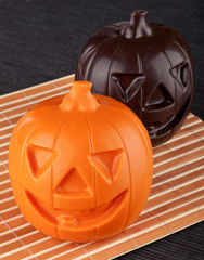 Two Pumpkin chocolate halloween