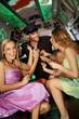 Hens night in limo