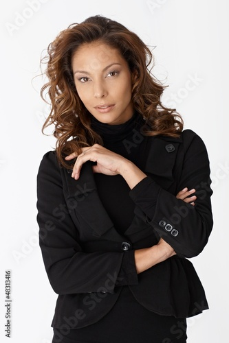 Portrait of Afro-american businesswoman