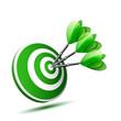 green darts