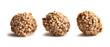 nuts truffles