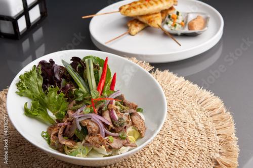 Num Tok Thai Steak Beef Salad